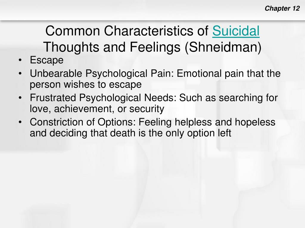 Common Characteristics of