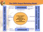 the cnfa output marketing model