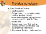 the ideal agrodealer