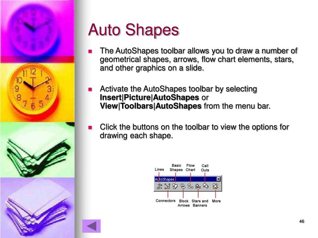 Auto Shapes