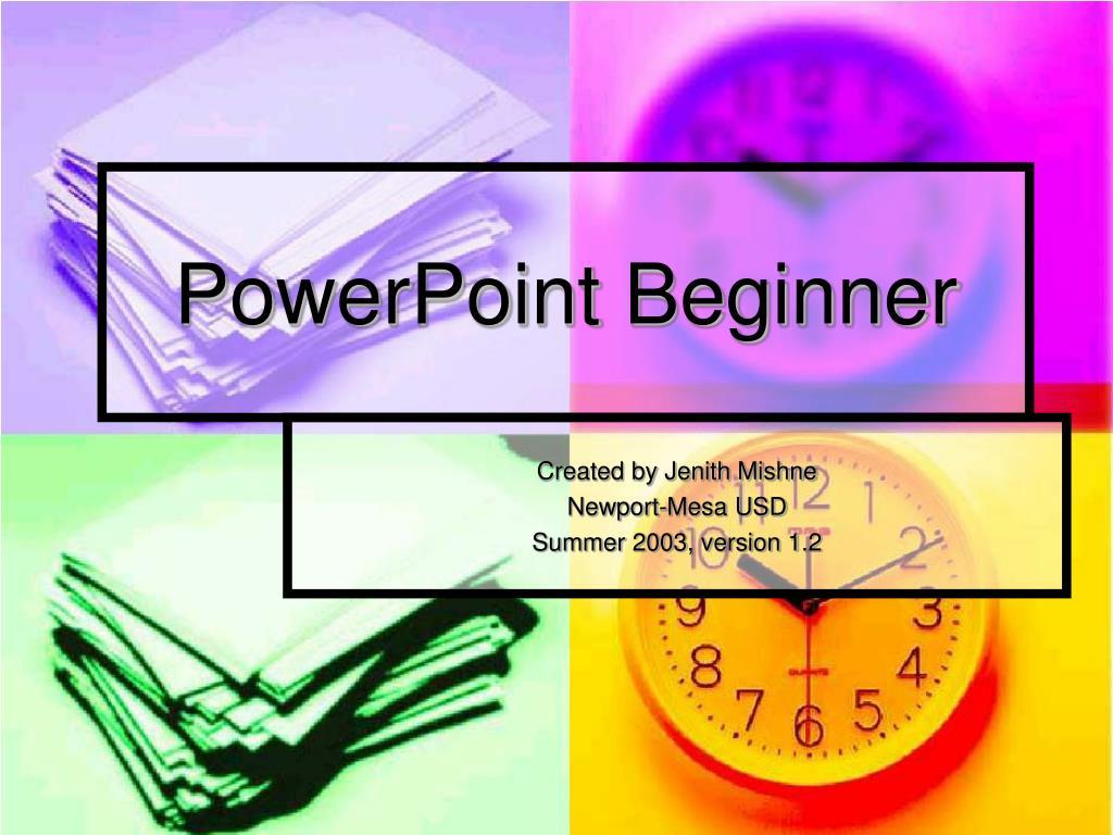 PowerPoint Beginner