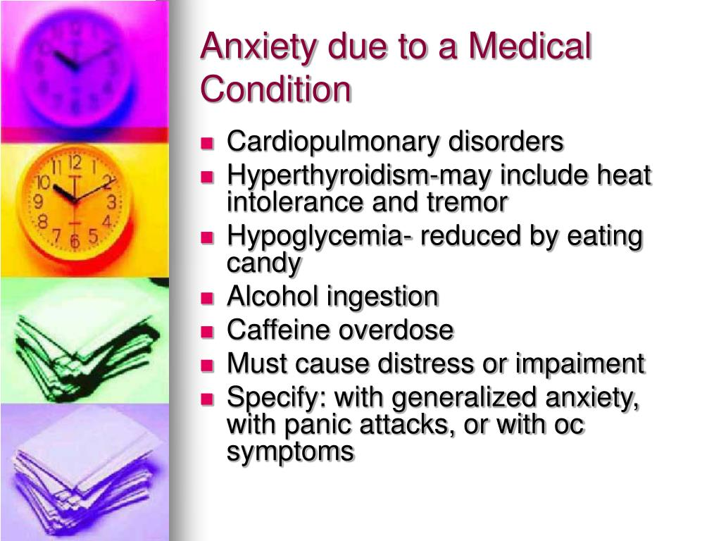 Anxiety due to a Medical Condition