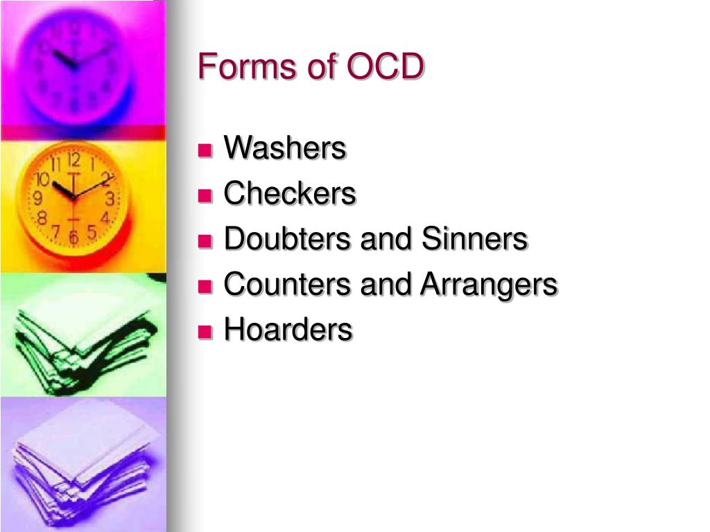 Forms of OCD