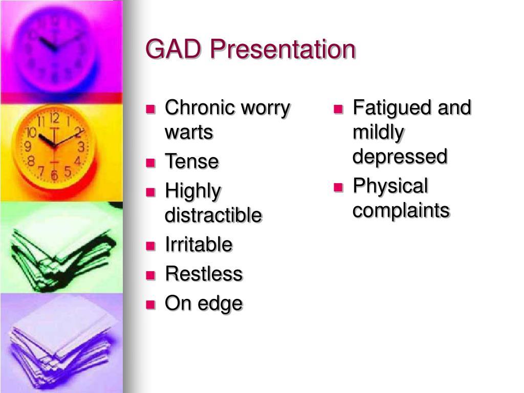 GAD Presentation