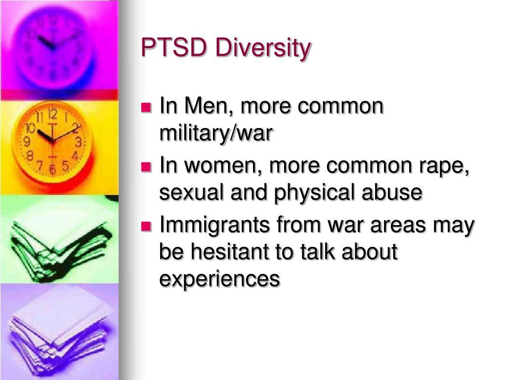 PTSD Diversity