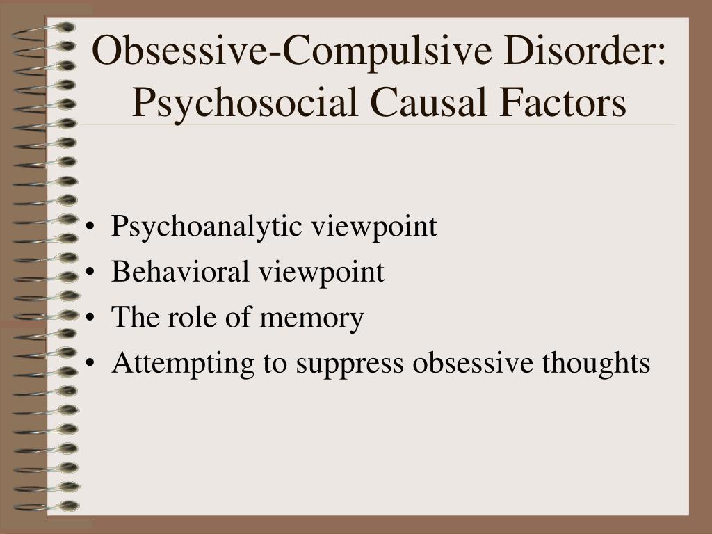 Obsessive-Compulsive Disorder: