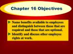chapter 16 objectives3