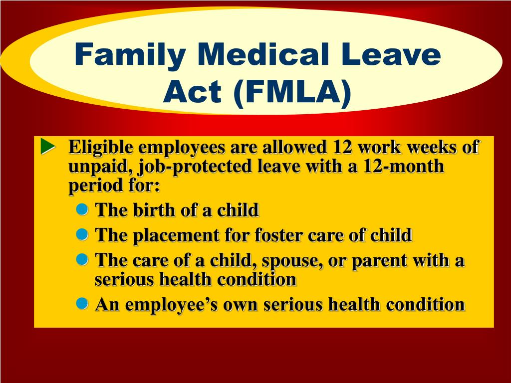 Family Medical Leave