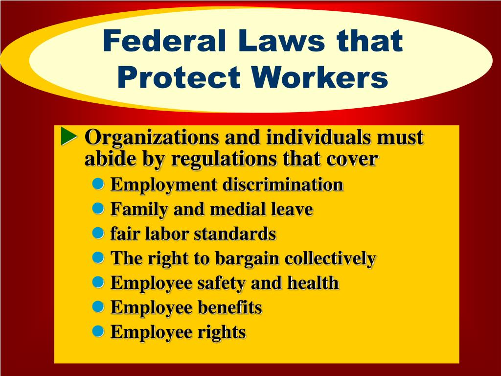 Federal Laws that