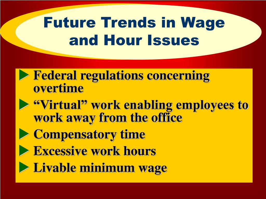 Future Trends in Wage