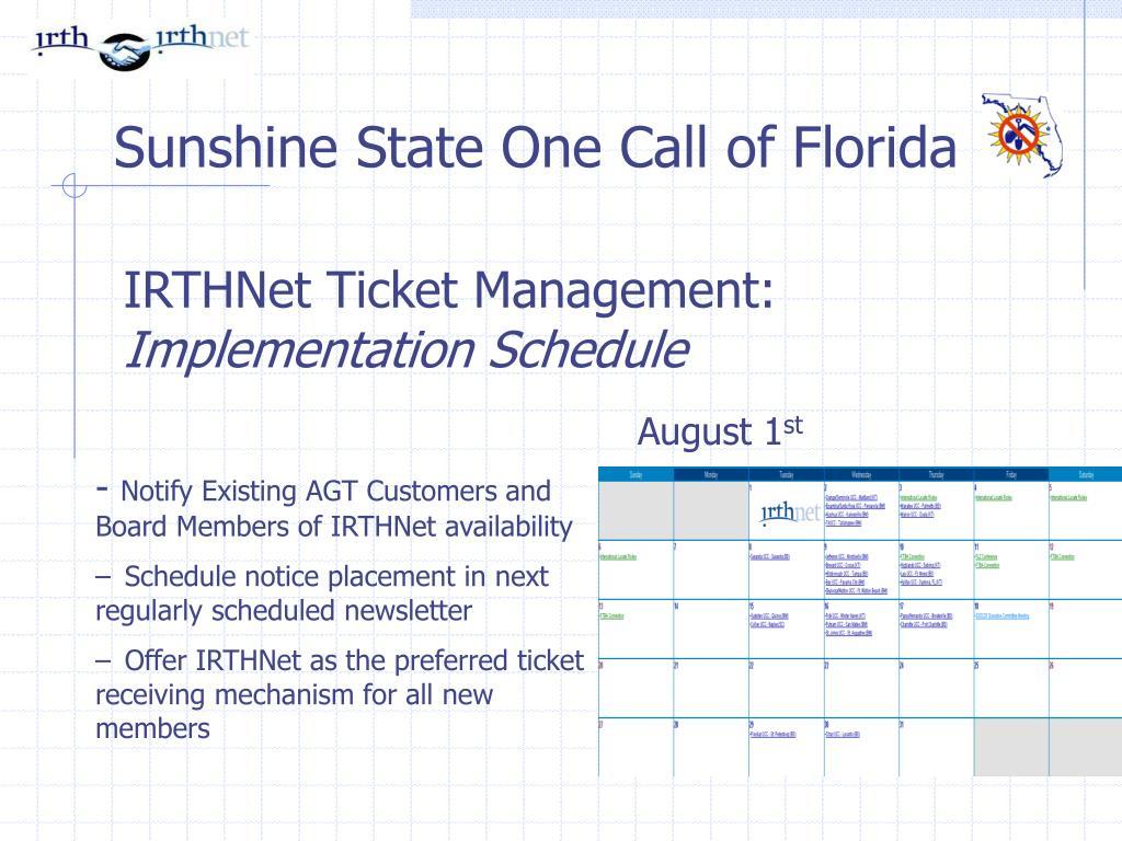IRTHNet Ticket Management: