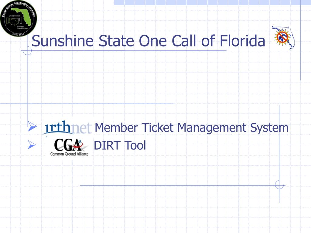 Sunshine State One Call of Florida