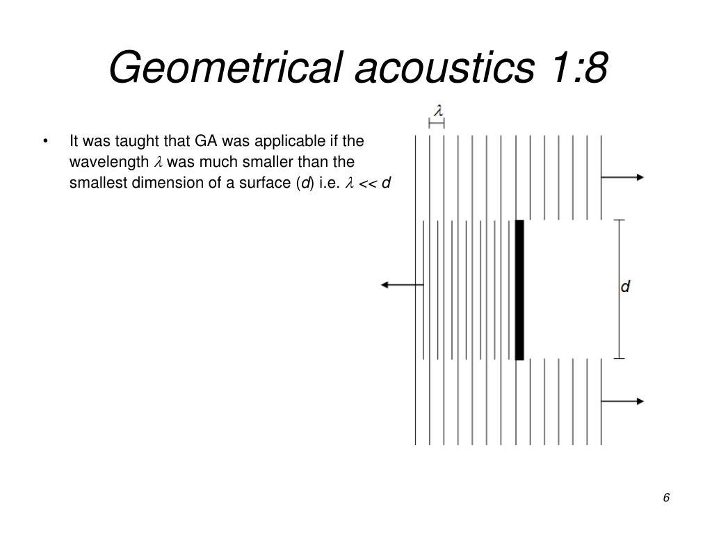 Geometrical acoustics
