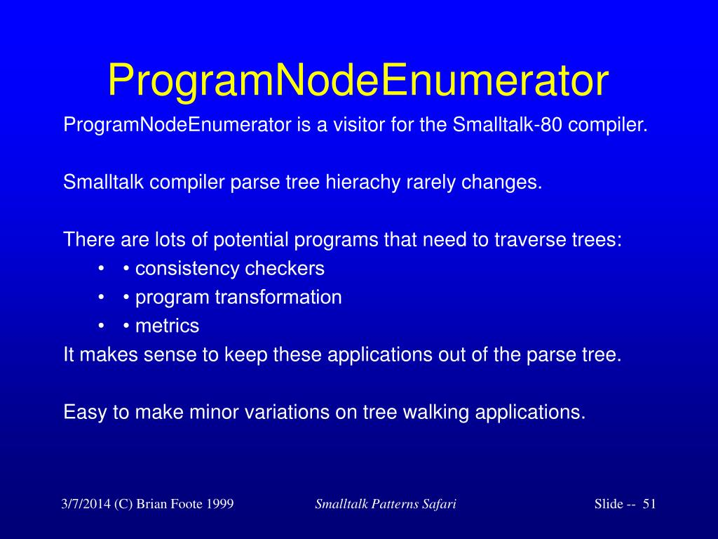 ProgramNodeEnumerator