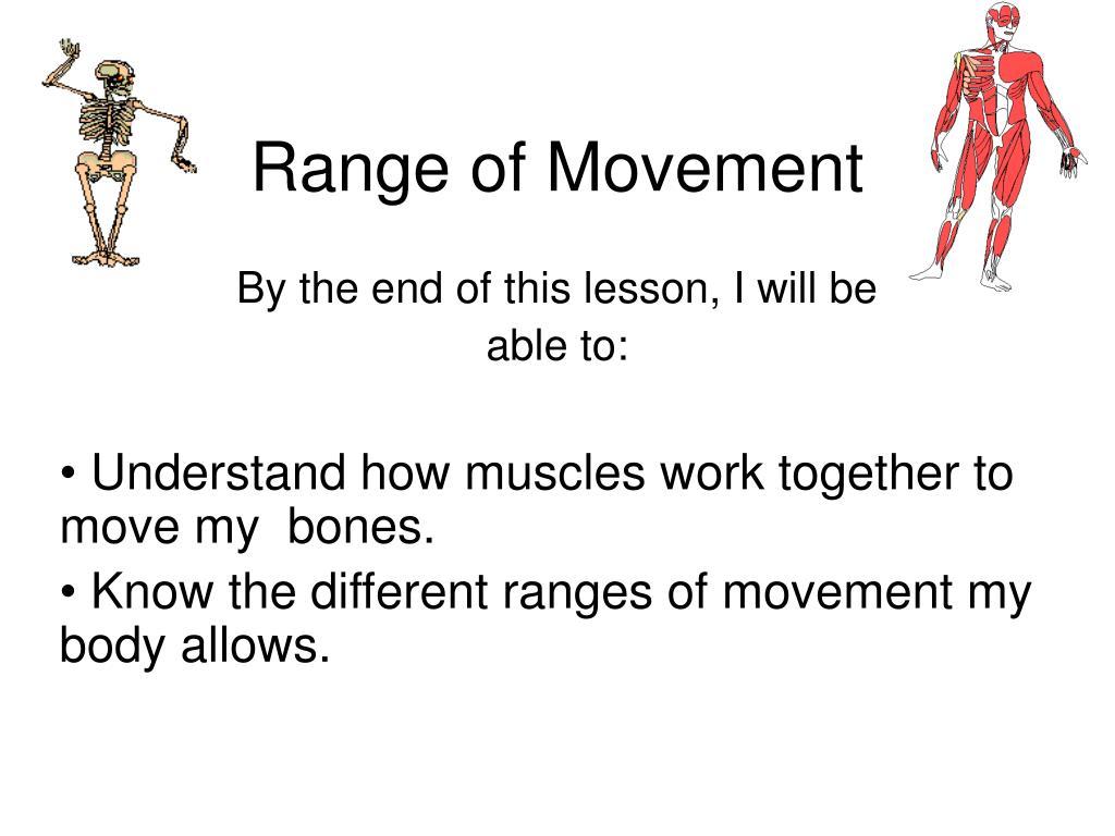 range of movement