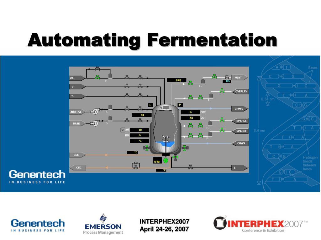 Automating Fermentation