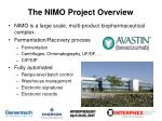 the nimo project overview
