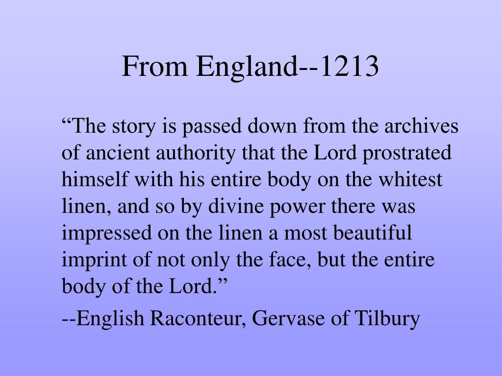 From England--1213