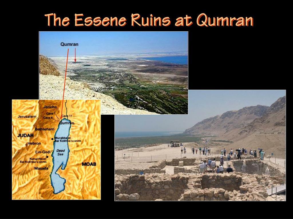 The Essene Ruins at Qumran