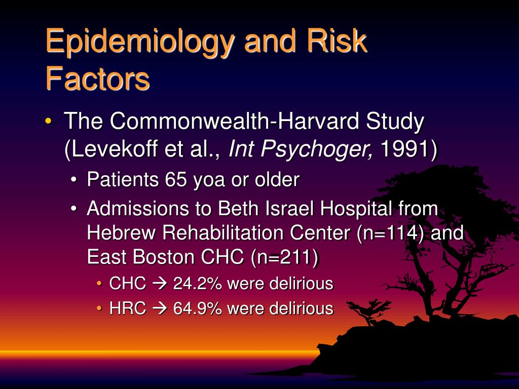Epidemiology and Risk Factors