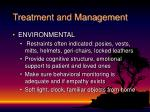 treatment and management56