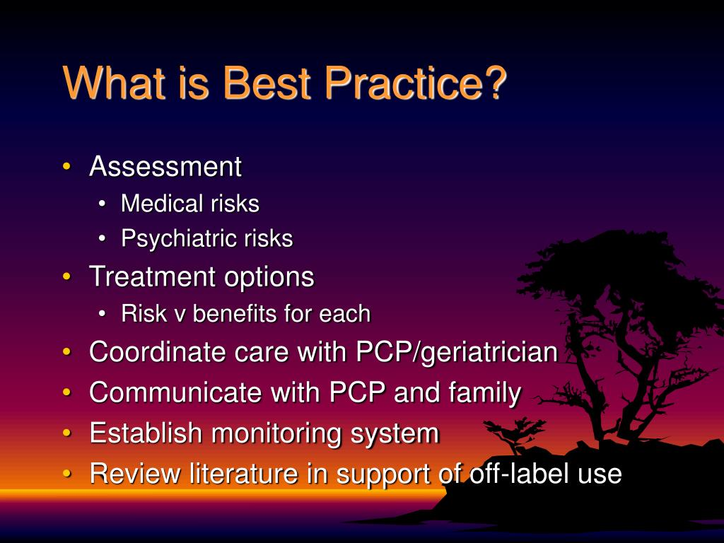 What is Best Practice?