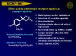 direct acting adrenergic receptor agonists b receptor agonists30