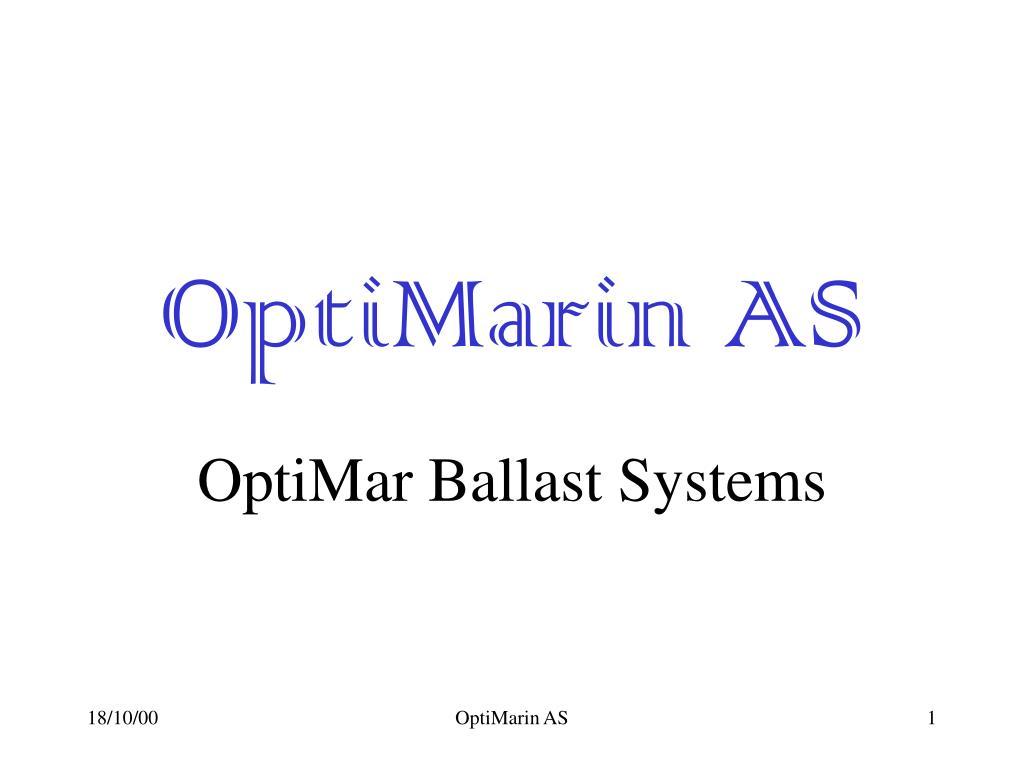 OptiMarin AS