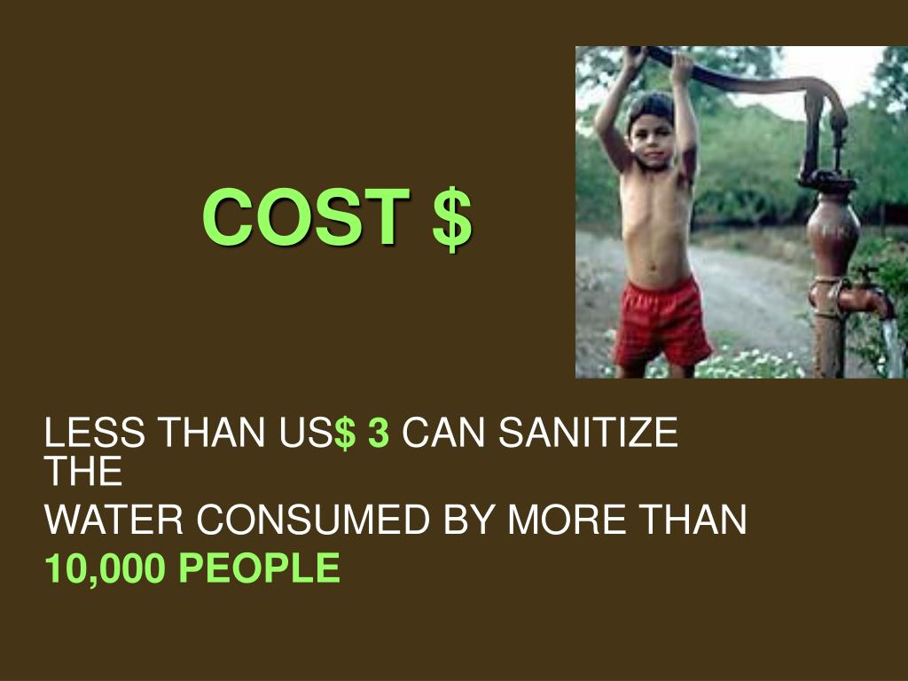 COST $