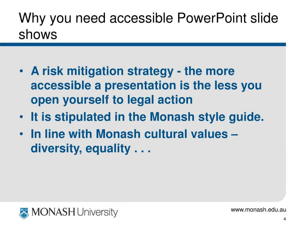 Why you need accessible PowerPoint slide shows