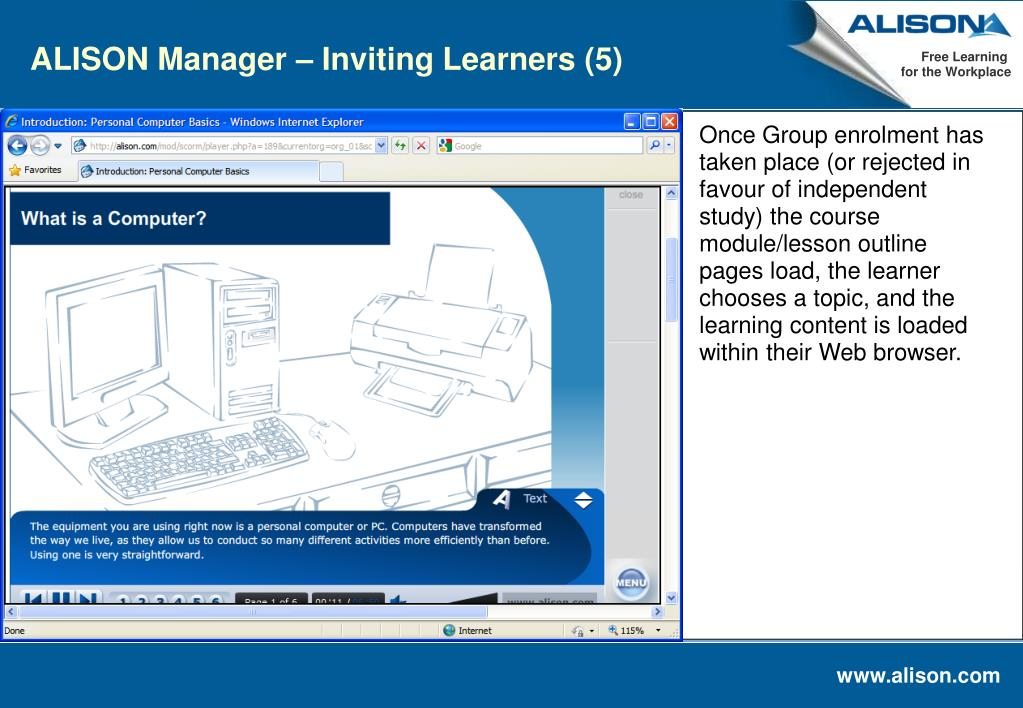 ALISON Manager – Inviting Learners (5)