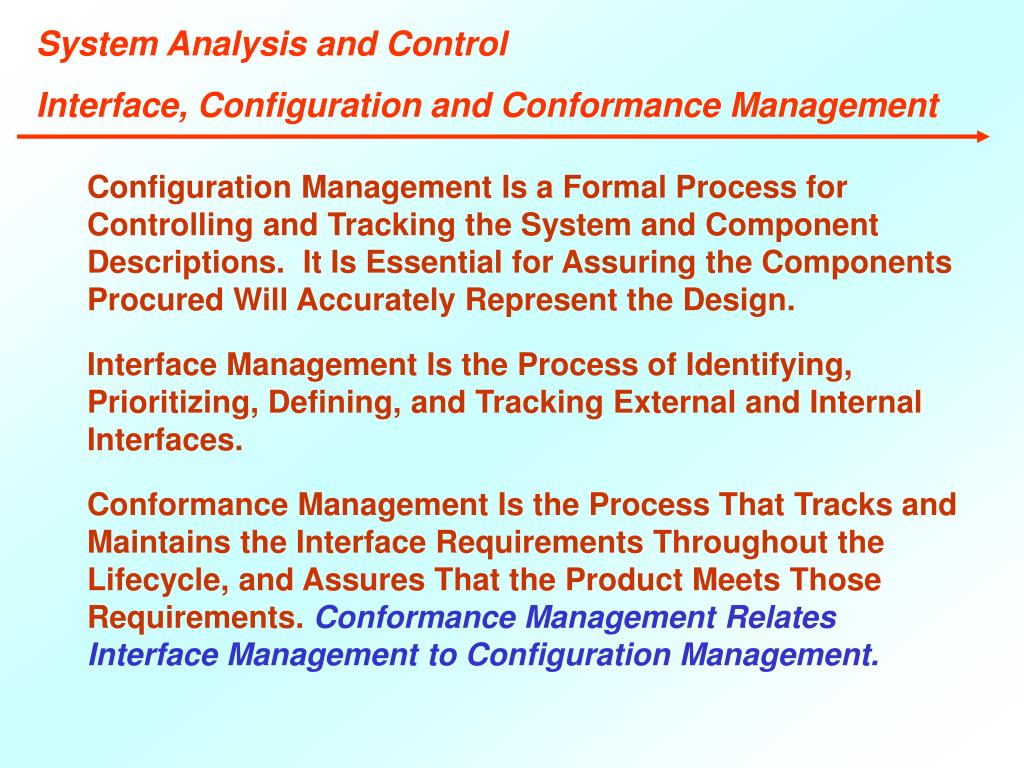 System Analysis and Control