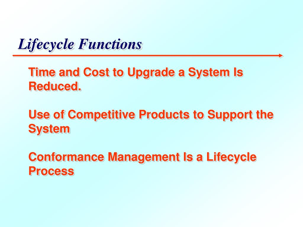 Lifecycle Functions