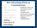 how advertising works as communication6