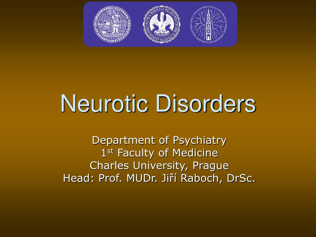 Neurotic Disorders