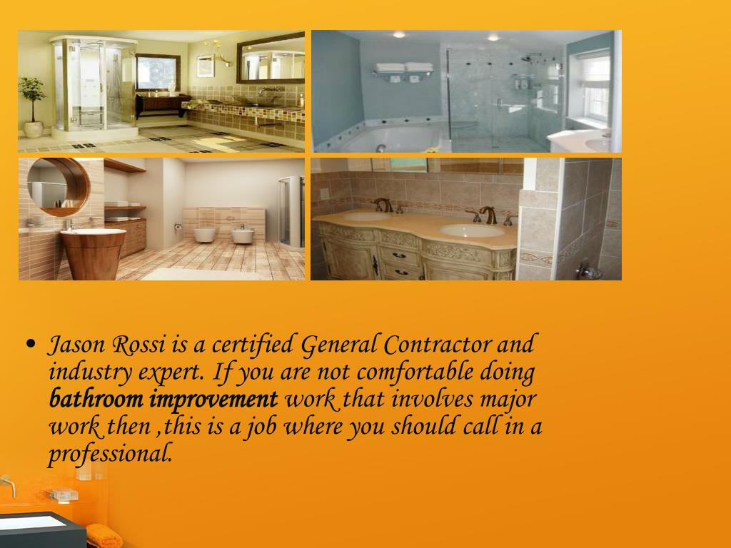 Jason Rossi is a certified General Contractor and industry expert. If you are not comfortable doing