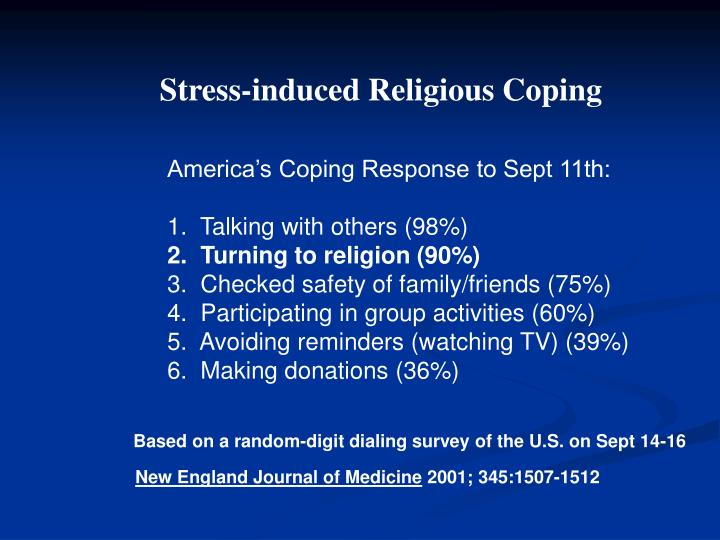 Stress-induced Religious Coping