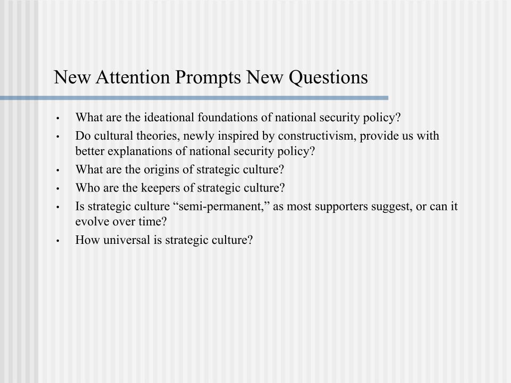 New Attention Prompts New Questions