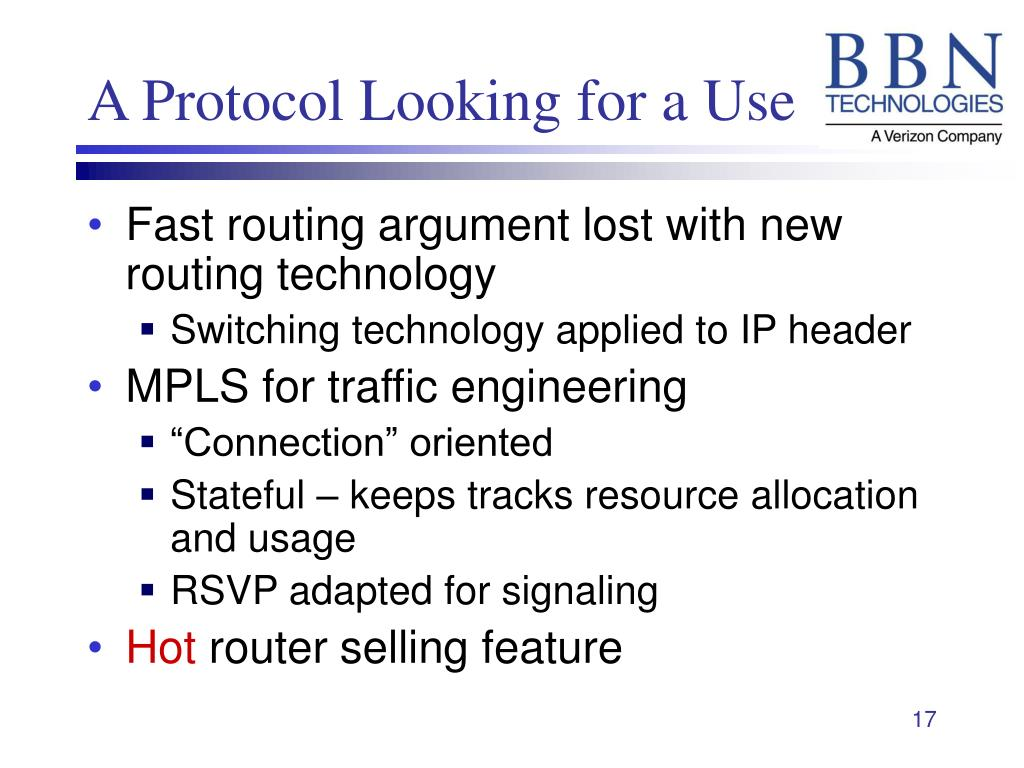 A Protocol Looking for a Use