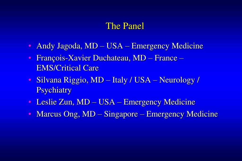 The Panel