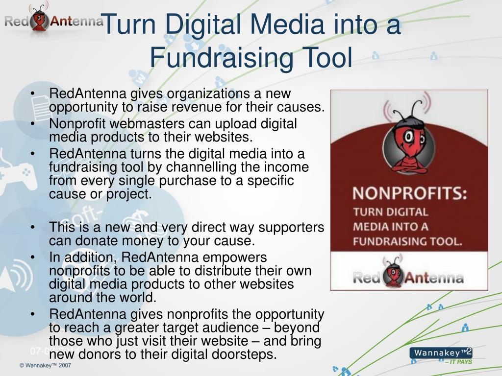 Turn Digital Media into a Fundraising Tool