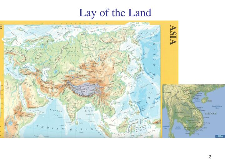 Lay of the land