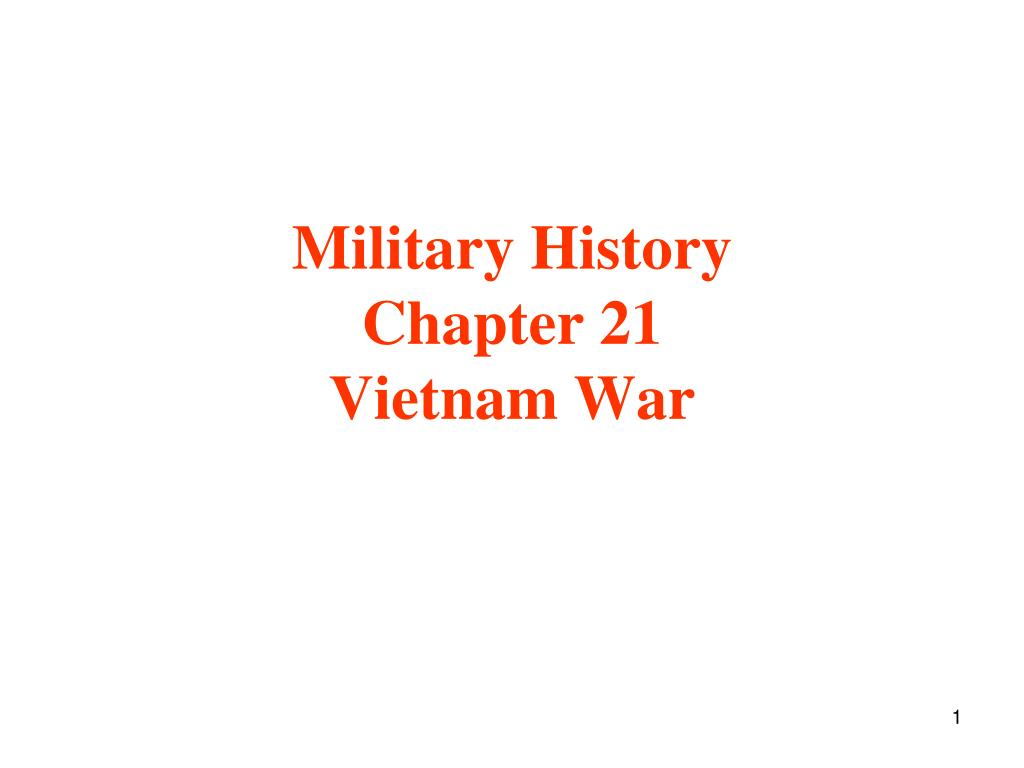 military history chapter 21 vietnam war