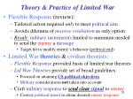 theory practice of limited war