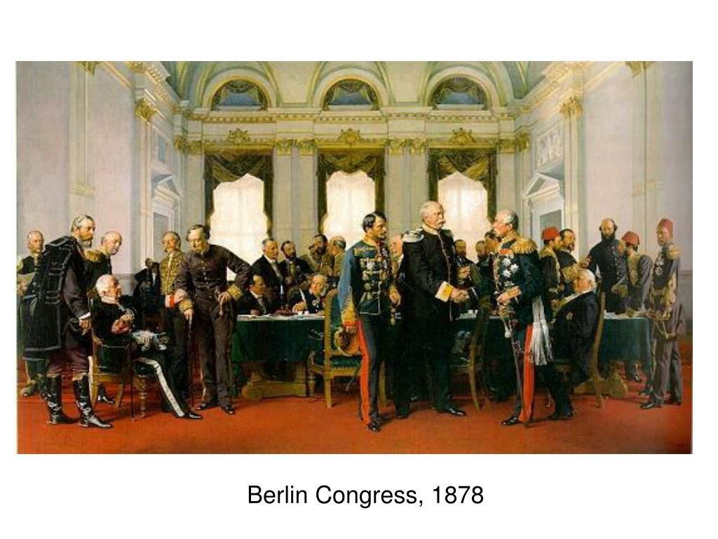 Berlin Congress, 1878