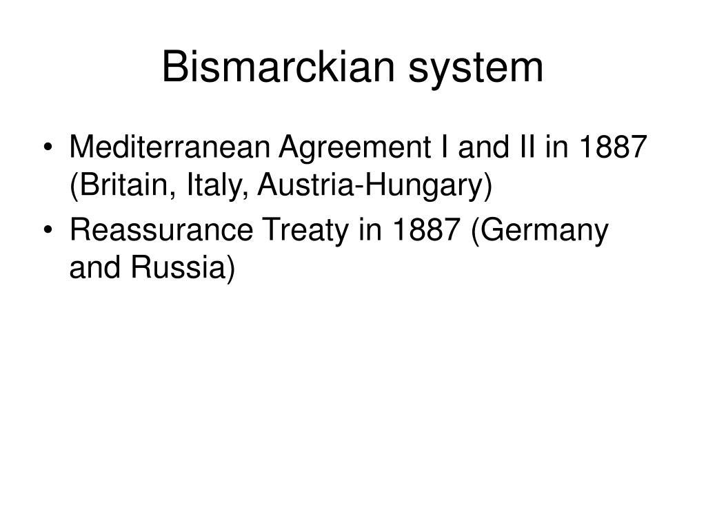 Bismarckian system
