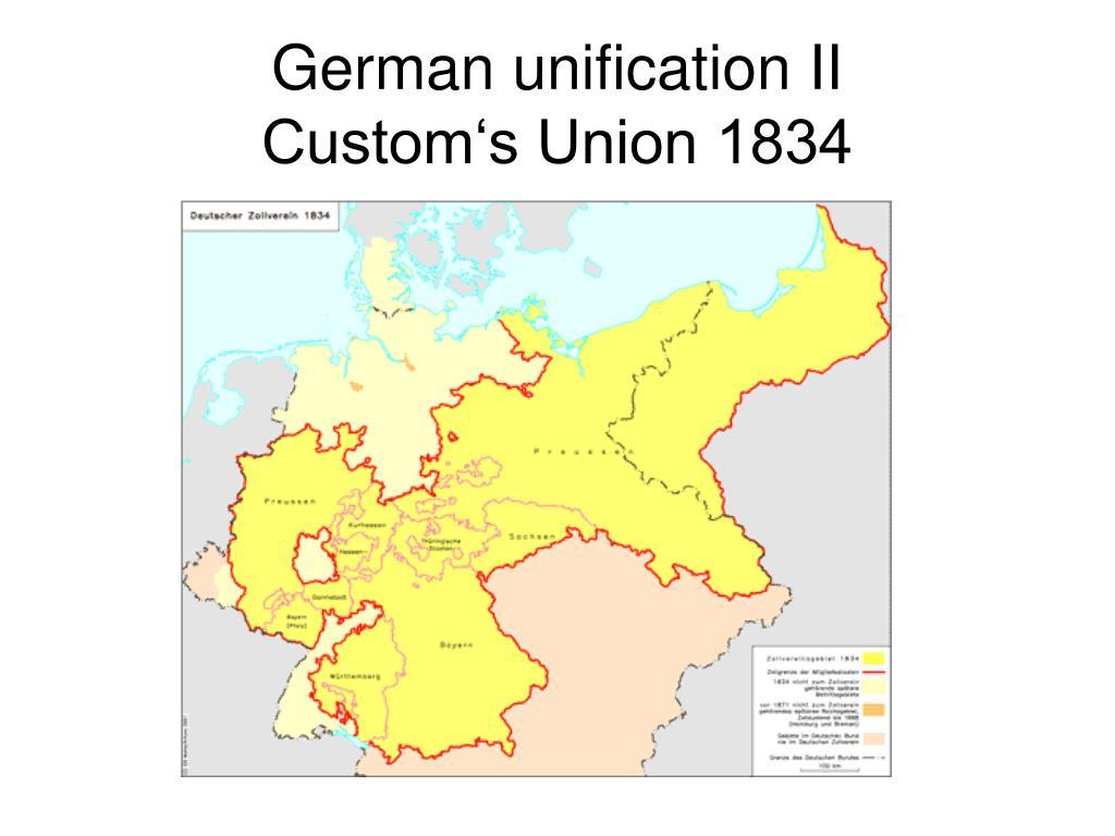 German unification II