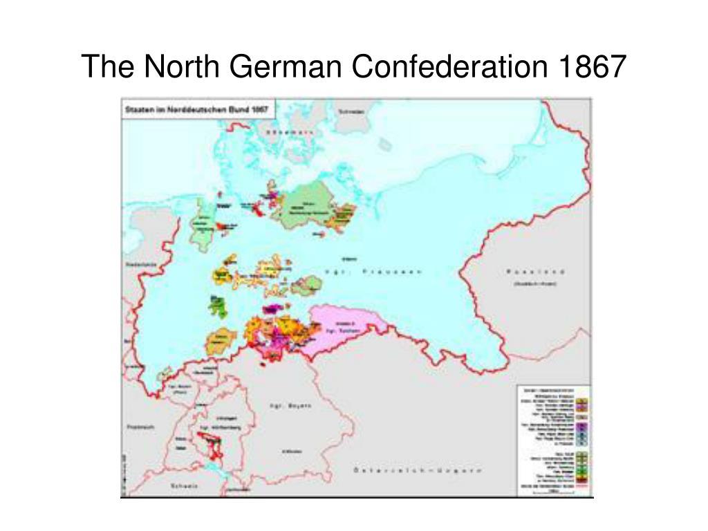 The North German Confederation 1867