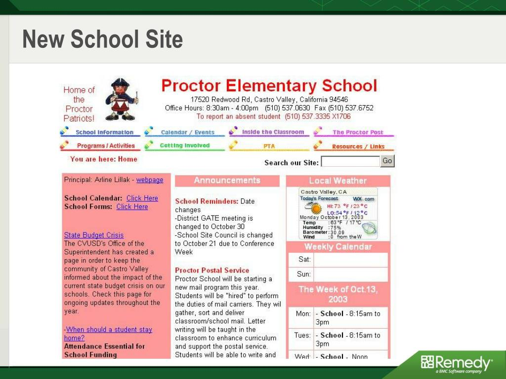 New School Site