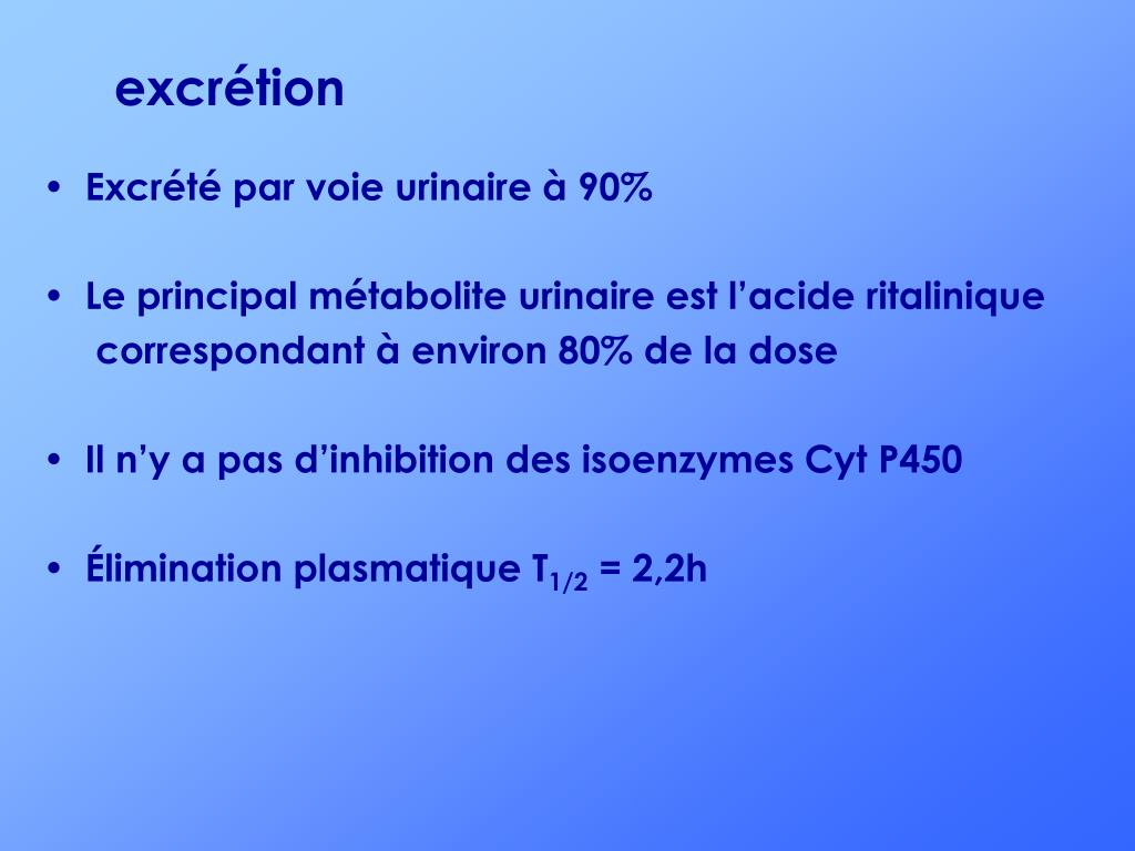 excrétion
